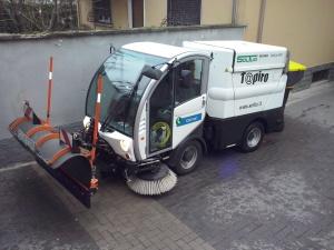 Attrezzature per la pulizia - Spazzatrici per grandi aree