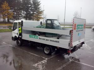 Attrezzature per la pulizia - Automezzi speciali (trasporto attrezzature pesanti)