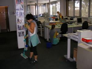 Servizi di pulizia - Pulizia Uffici