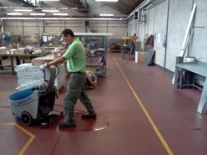 Servizi di pulizia - Pulizia officine e reparti industriali